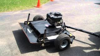 Riding Mower Haban Tow Behind Mower Part 2 2