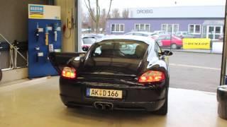 JP Performance - Porsche Cayman Abgasanlage