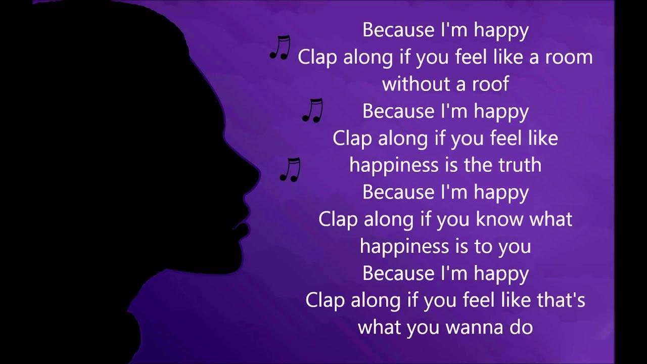 Pharrell Williams - Happy [Lyrics] - YouTube