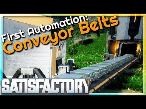 We Have Our First Automation: Conveyor Belts! |  (Alpha Weekend) #4