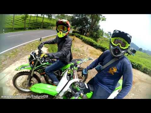 Enduro Vs Supermoto #2   Sunmori SPEEDING !!!   Mabal Ke Kebon Teh   KLX 150   MUSIC VIDEO