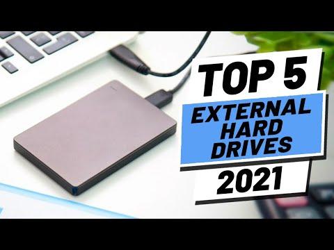 Top 5 BEST External Hard Drives of [2021]