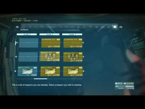 MGSV:TPP Development Weapon All