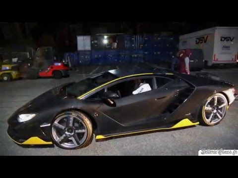 Lamborghini Centenario Driving Loud Sound Youtube