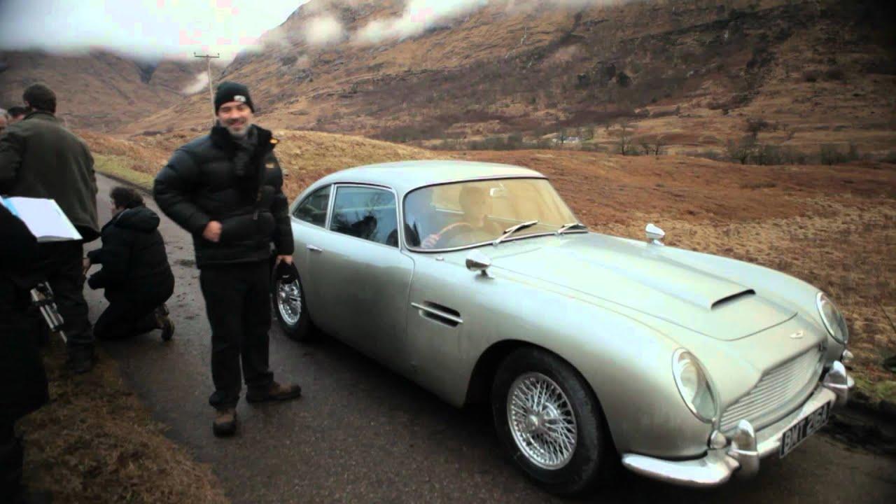 SKYFALL   Aston Martin DB5 Video Blog