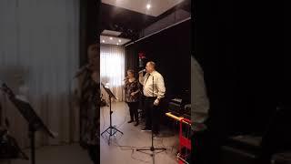 Zangduo : Ton & Sylvia. Kerstoptreden in Kulturhus te Wekerom. 2019.