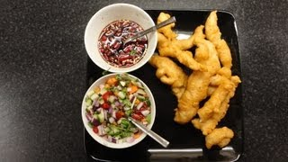 Geoff Carter Makes Chicken Goujons, With 2 Thai Dips