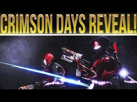 Destiny 2. CRIMSON DAYS REVEAL! New Loot Mechanic, New Map, PvP Twist, Rewards, Milestones And More! thumbnail
