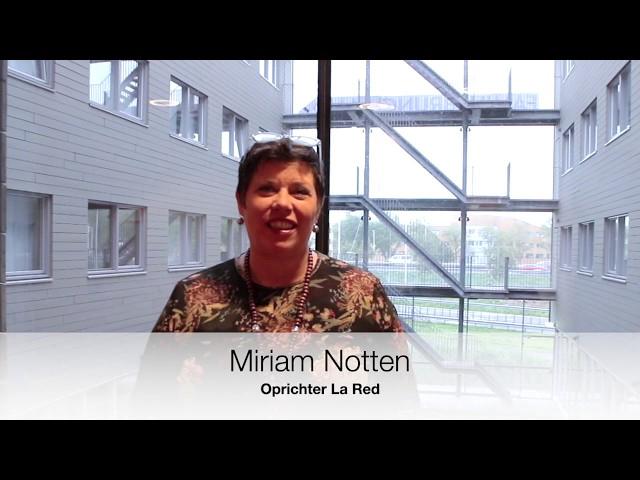 Miriam Notten van La Red is er van overtuigd, sociaal kapitaal hoort op de balans!
