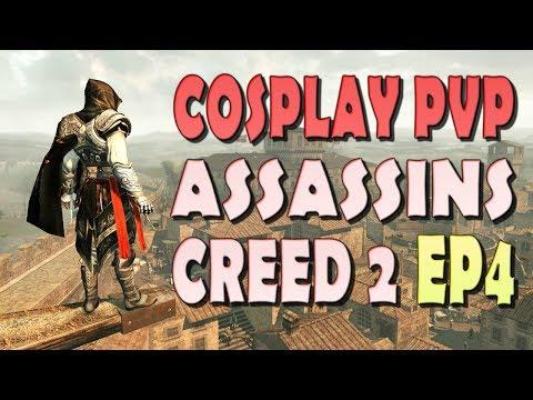 Cosplays PVP ep4 - ASSASSINS CREED 2 (Gameplay Español)