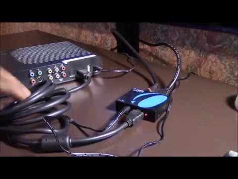 & HDMI Splitter - Cable Box Feeding Two Wall Mounted LED TVs - YouTube Aboutintivar.Com