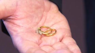 Anonymous widow donates cherished wedding rings to Salvation Army