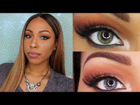 Desio Contact Lenses Review & Try on | Smoky Grey & Caramel Brown (Please read the description box) from YouTube · Duration:  7 minutes 48 seconds  · 32.000+ views · uploaded on 14-7-2016 · uploaded by TheHeartsandcake90