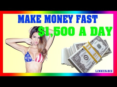 How To Make Money Online Fast 2017 - Case Study 2 Earn $1,500 Per Day