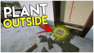 PLANT OUTSIDE THE OBJECTIVE!!! - Rainbow Six Siege Glitches