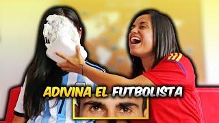Adivina el FUTBOLISTA con solo ver sus OJOS ¡¡Con CASTIGO!! | Dúo Dinámico