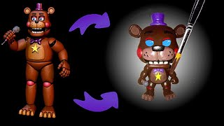 Rockstar Freddy Custom POP! Figure (Tutorial/Speedpaint)
