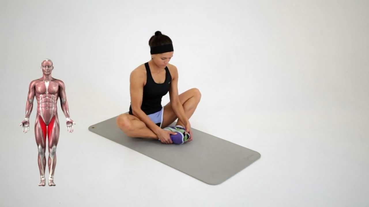 Alongamento da virilha youtube for Exercicio para interno de coxa