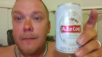 Saunassa testissä A.Le Coq olut