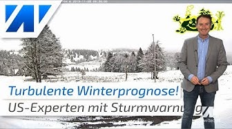 Turbulente Wintervorhersage 2019/2020!