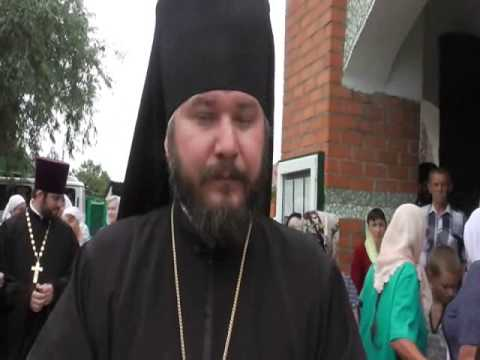 Визит архимандрита Симона в Миллерово 2014