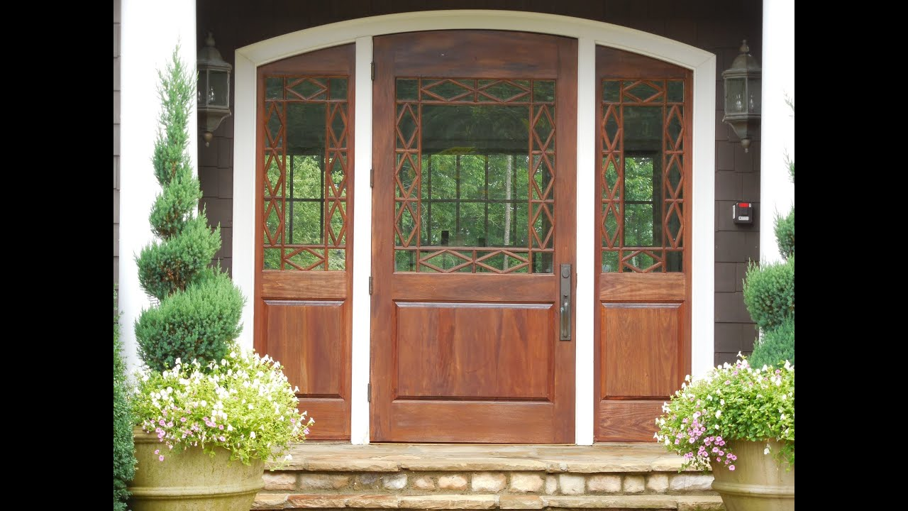 house front doors styles house building home improvements custom homes house plan youtube - Front Door Photos Of Homes
