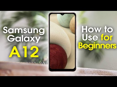 Samsung Galaxy A12 for Beginners (Learn the Basics in Minutes)