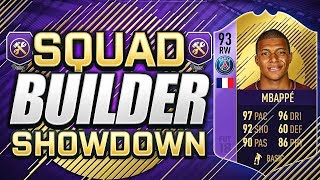 INSANE POTY MBAPPE SQUAD BUILDER SHOWDOWN!!! FIFA 18 Ultimate Team