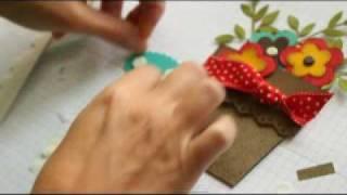 Flower Pot Pocket Card
