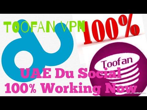 Toofan VPN Du Social UAE/ Hindi Video Tutorial 100% Working