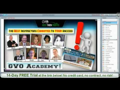 FREE Autoresponder & FREE Internet Marketing Training From GVO Academy