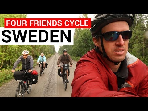 Bicycle Touring Pro: Four Friends Cycle From Piteå to Luleå,