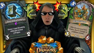 thijs Joins The Darkside with SMOrc Dragon Hunter!! INFINITE HITTING FACE! (Descent of Dragons)