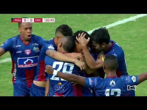 Unión Magdalena 1-0 Once Caldas, gol Juan Carlos Pereira I Deportes RCN