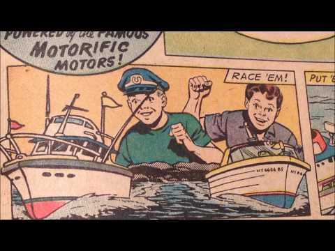 COMIC MAN PRODUCTIONS:  IDEAL BOATERIFIC BATMAN COMIC BOOK AD 1967