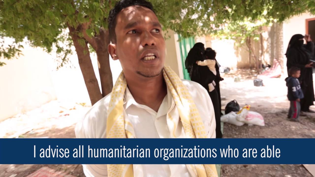 Islamic Relief USA - Yemeni Refugees find refuge in Somalia