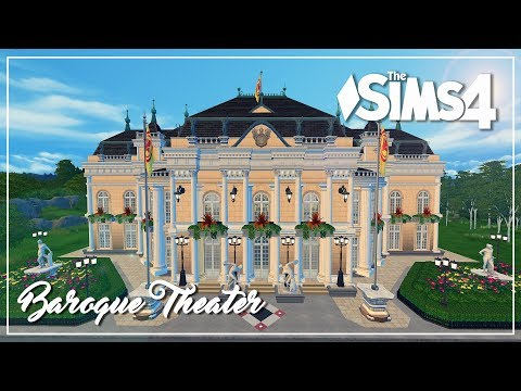 The Sims 4 Speed Build - Baroque Theater