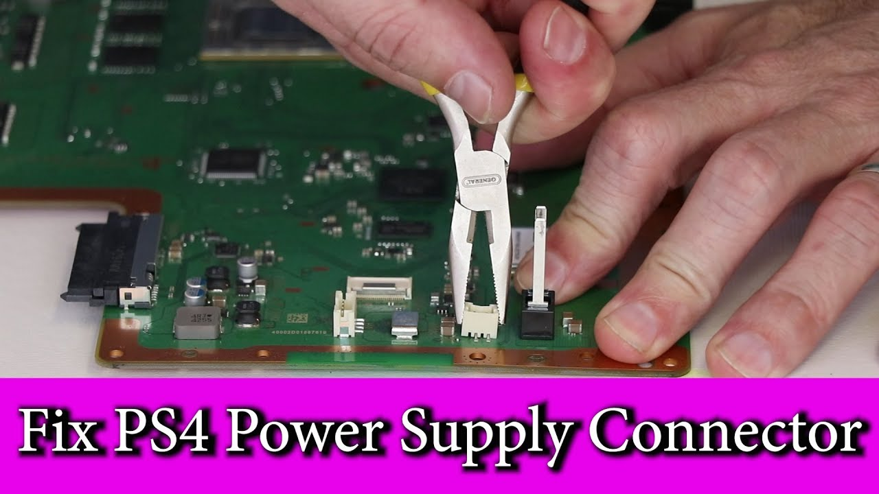 PS4 Power Supply Repair + PS4 Q&A At The End - YouTube | Ps4 Component Cable Wiring Diagram |  | YouTube