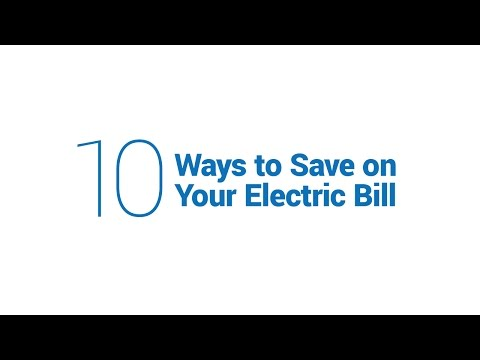 10 Ways to Save Money on Your Electric Bill