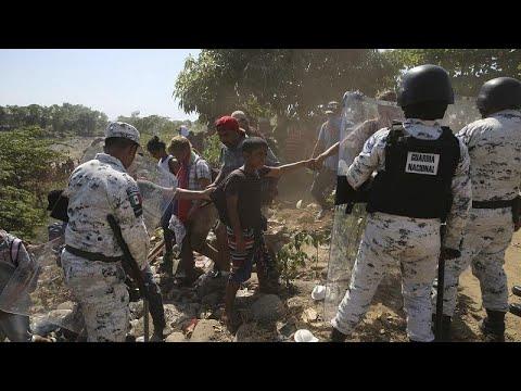 توتر على الحدود.. انتشار كثيف لعناصر الحرس الوطني في المكسيك تحسبا لتدفق المهاجرين…  - 22:59-2020 / 1 / 21