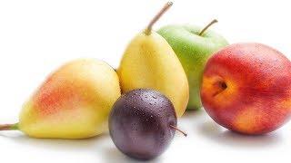 Сливы, груши или яблоки?