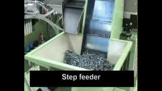 RNA Step Feeder handling Screws