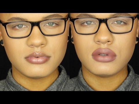 Image result for over lining lips