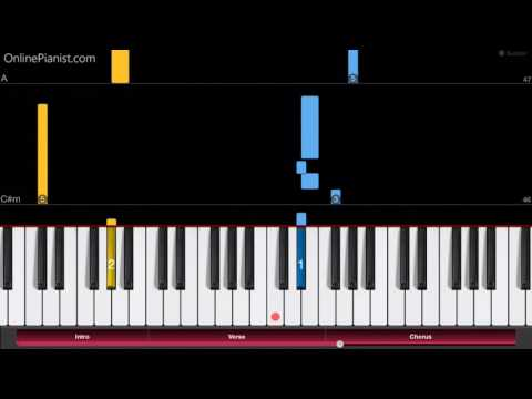 Sword Art Online - Innocence - EASY Piano Tutorial - How to play Innocence on piano (ソードアート・オンライン)