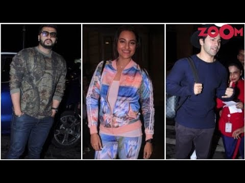 Sonakshi Slays In A Multi Coloured Outfit | Arjun, Varun's Casual Avatar In A Sweatshirt & More