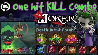 Joker Best Build - Arena of Valor - one hit combo guide- midlane
