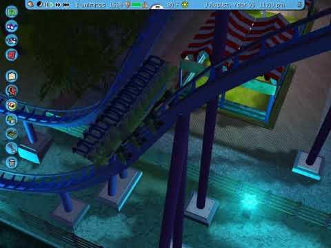Gladiator!! B&M dive coaster [RCT3] |