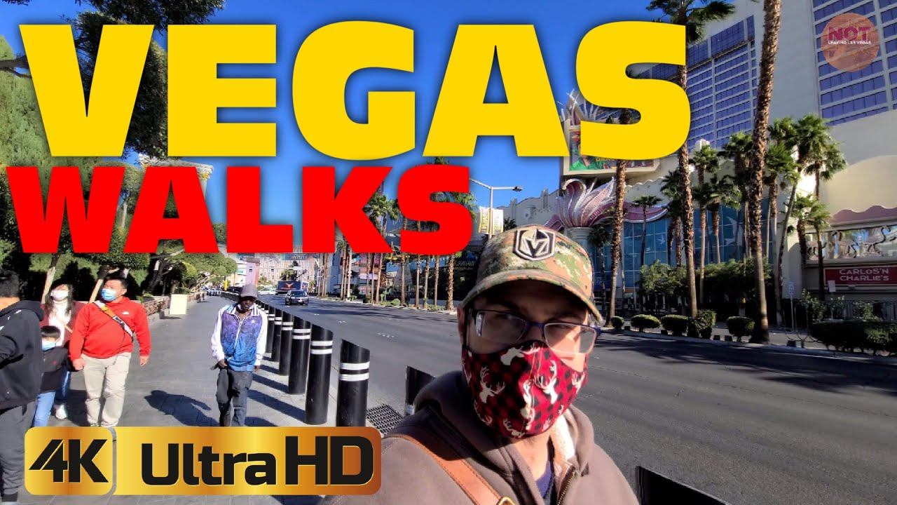 Walking the DESERTED Las Vegas Strip - Strange Vibe With Low Tourism