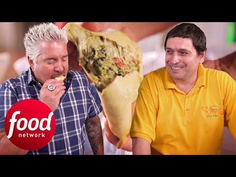 An American Story Filled With Argentinian Empanadas | Diners, Drive-Ins & Dives
