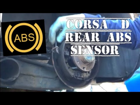Vauxhall Opel Corsa D REAR ABS SENSOR, How To Diagnose Repair ...